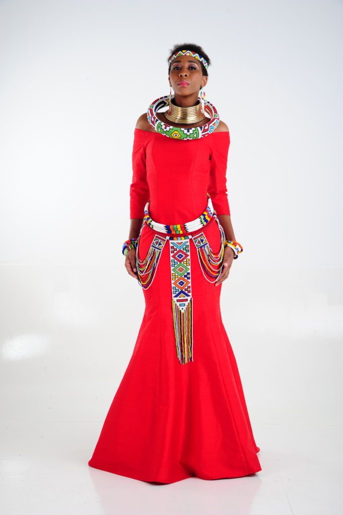 Ndebele Modern Wedding Dress : Take centre stage with traditional african couture