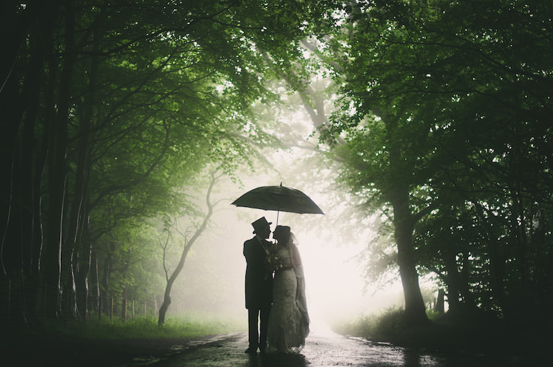 Rain on your wedding day well firstly stop worrying about getting your dress wet and dirty even if its a perfectly dry day its still going to get somewhat dirty junglespirit Image collections